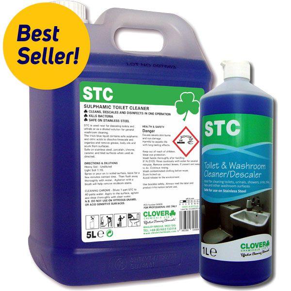 STC Toilet Cleaner & Descaler - Hygiene 24-7